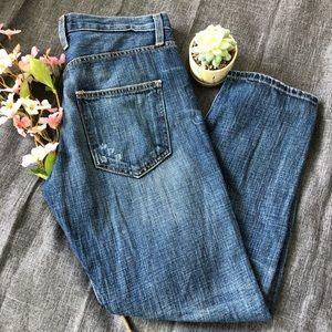 Current/Elliott The Boyfriend Loved Crop Jeans